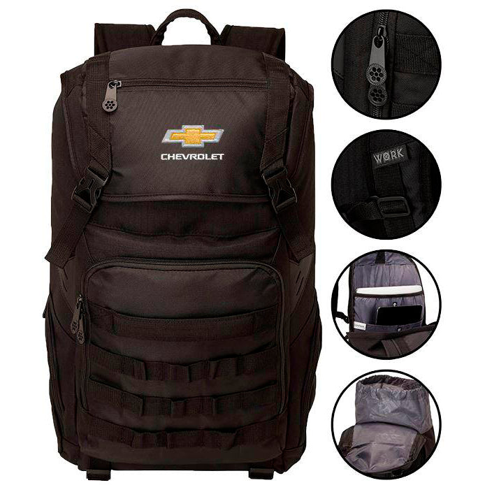 Chevrolet Work Out Of Backpack
