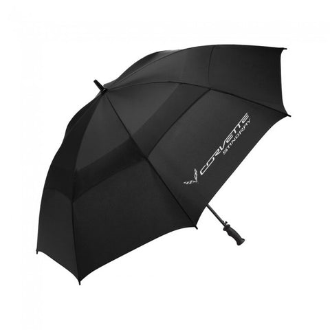 Corvette Stingray Umbrella - Blk/Wh
