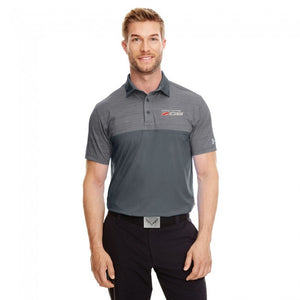 Under Armour Z06 Polo - Rhino Gray/Steel - GM Company Store