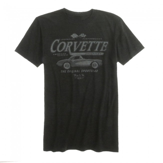 Corvette American Classic The Original Sportscar Made In The USA Tee - GM Company Store