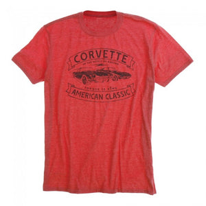 "Corvette""Torque is King"" Tee-Red - GM Company Store"