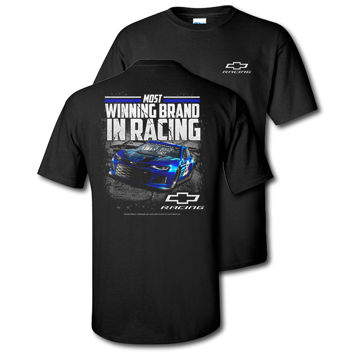 Chevy Racing Most Winning Brand T-Shirt - GM Company Store