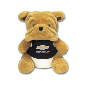 "Chevrolet 9"" Plush Bulldog - GM Company Store"