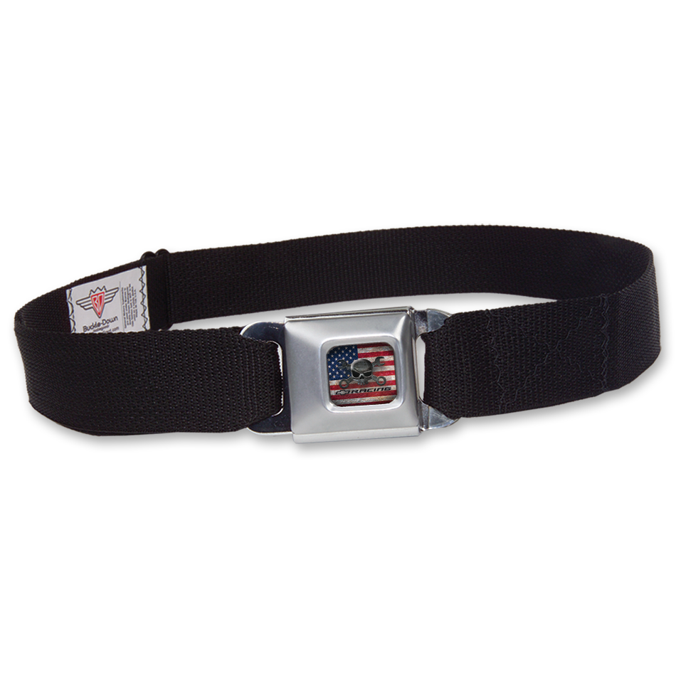 Chevy Racing Mr. Crosswrench Seatbelt Belt - GM Company Store