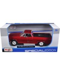 1:25 1965 Chevy El Camino-Red - GM Company Store