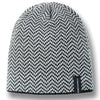 Denali Chevron Patterned Knit Beanie - GM Company Store