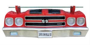 1970 Chevelle SS 3-D Wall Shelf With Lights - GM Company Store