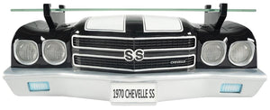 1970 Chevelle SS 3-D Wall Shelf Black - GM Company Store