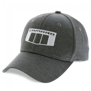 Camaro 6th Gen Tonal Badge Cap - Black Heather - GM Company Store