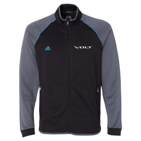 Volt Adidas Full Zip Jacket