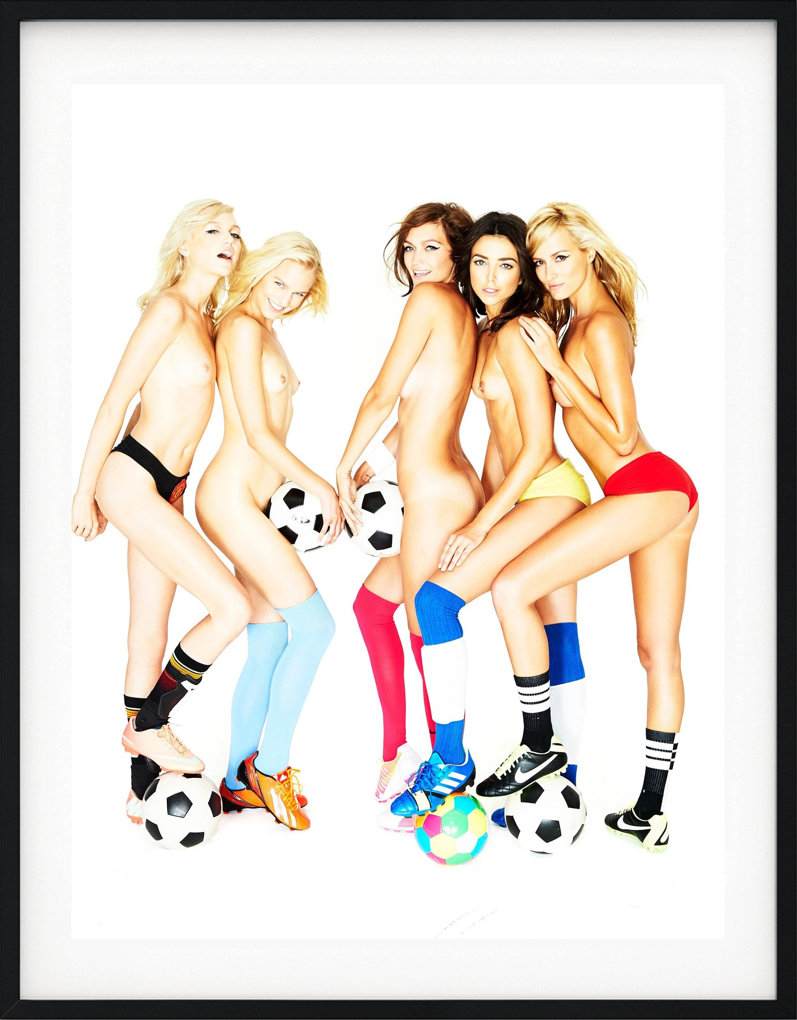 Soccer Girls by Ben Watts