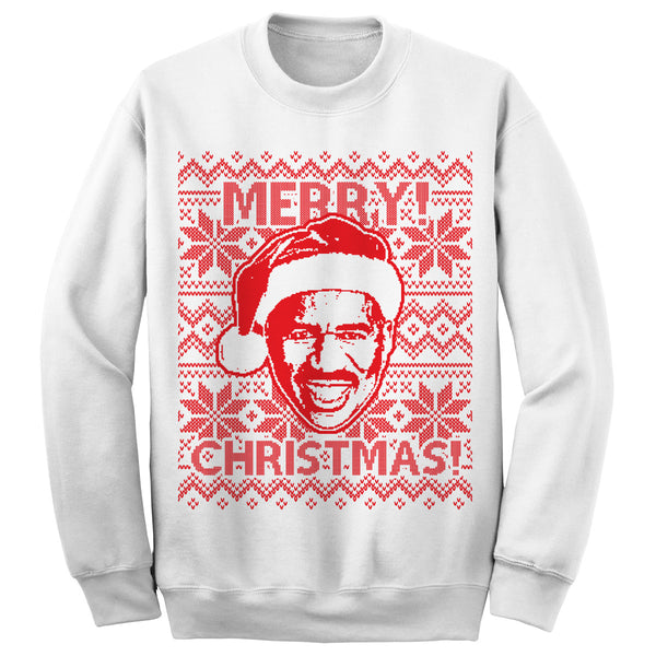 Steve Harvey Christmas Sweatshirt (White)
