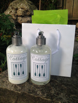 2 Piece - LUXURY HAND SOAP AND LUXURY HAND LOTION - PERSONALIZED!