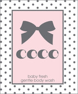 Baby's Gentle Body Wash - PERSONALIZED!