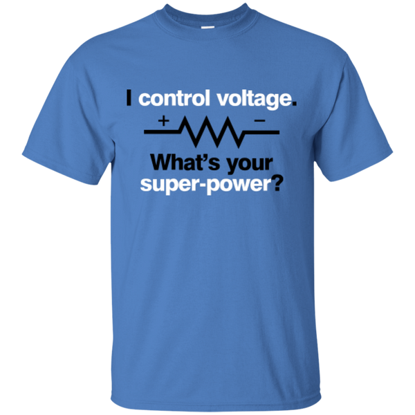 I Control Voltage - #Reasonistas T-Shirt (B&W)
