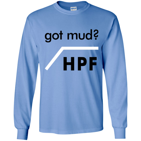 Got Mud? HPF - #Reasonistas LS T-Shirt (B&W)