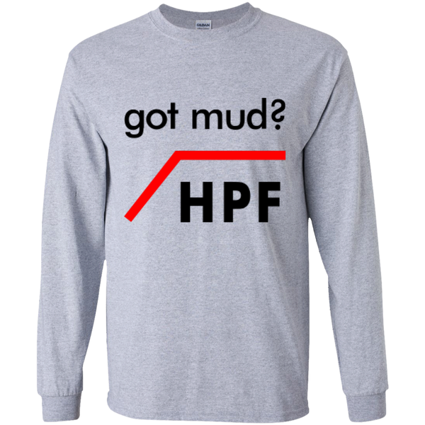 Got Mud? HPF - #Reasonistas LS T-Shirt (B&R)