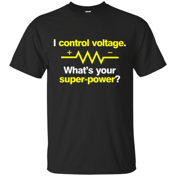 I Control Voltage - #Reasonistas T-Shirt (W&Y)