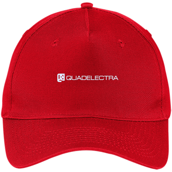 Official Quadelectra Five Panel Twill Cap (W)