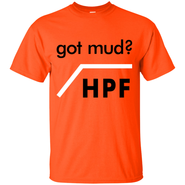 Got Mud? HPF - #Reasonistas T-Shirt (B&W)
