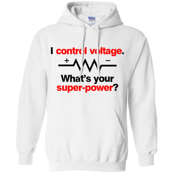 I Control Voltage - #Reasonistas Hoodie (B&R)