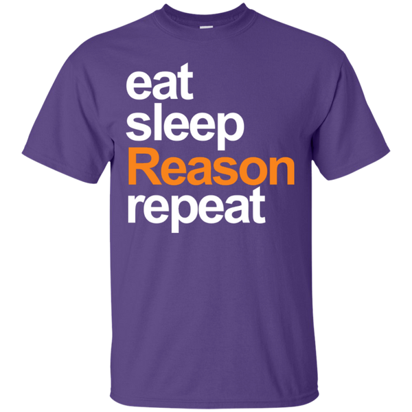 eat, sleep, Reason, repeat - T-Shirt (W&O)