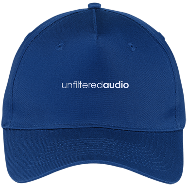 Official Unfiltered Audio Five Panel Twill Cap (W)