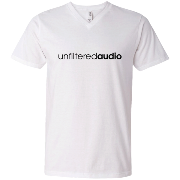 Official Unfiltered Audio V-Neck T-Shirt (B)