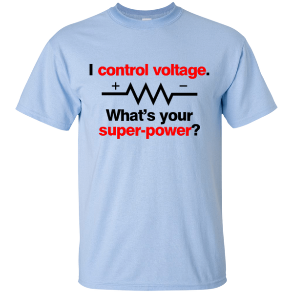 I Control Voltage - #Reasonistas T-Shirt (B&R)