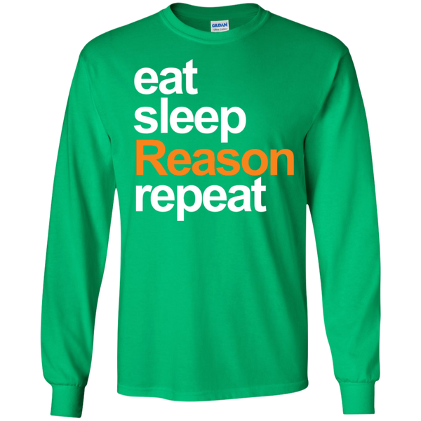 eat, sleep, Reason, repeat - #Reasonistas LS T-Shirt (W&O)