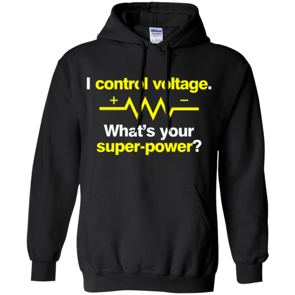 I Control Voltage - #Reasonistas Hoodie (W&Y)