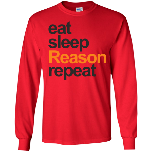 eat, sleep, Reason, repeat - #Reasonistas LS T-Shirt (B&O)