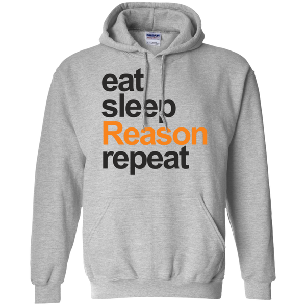 eat, sleep, Reason, repeat - #Reasonistas Hoodie (B&O)