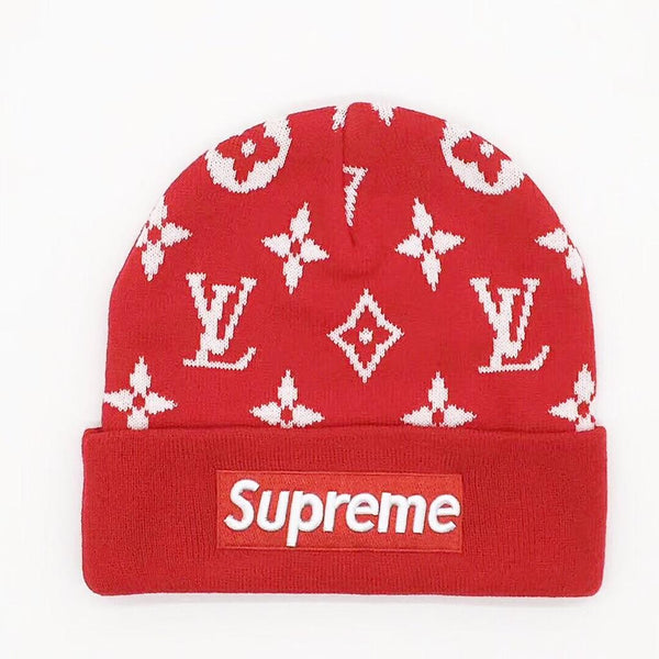 72a361799dd Supreme inspired Beanie - Red