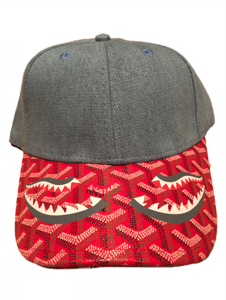 ee5f5ebe518 Red Shark Inspired Dad Cap