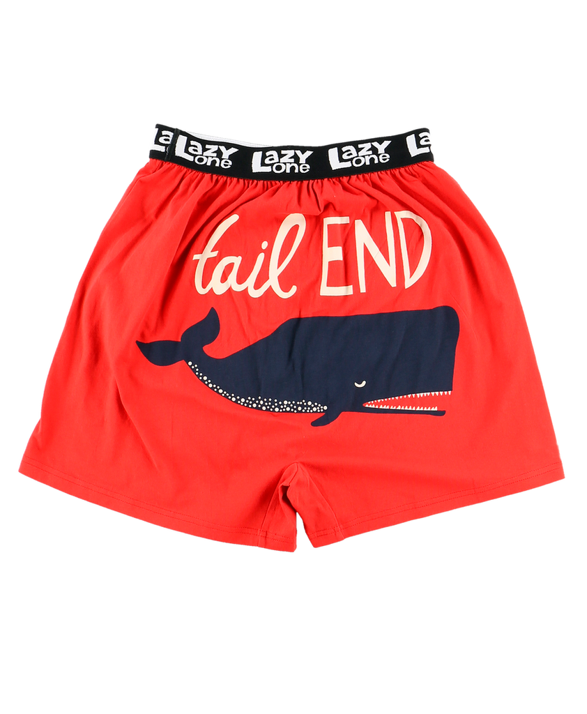 Tail End Whale Boxer