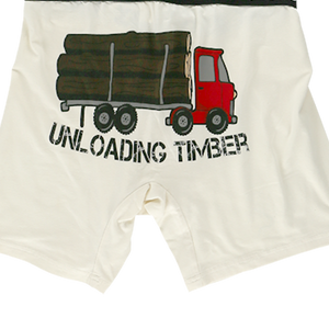 Unloading Timber Boxer Brief