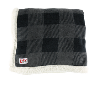 Grey Plaid Blanket