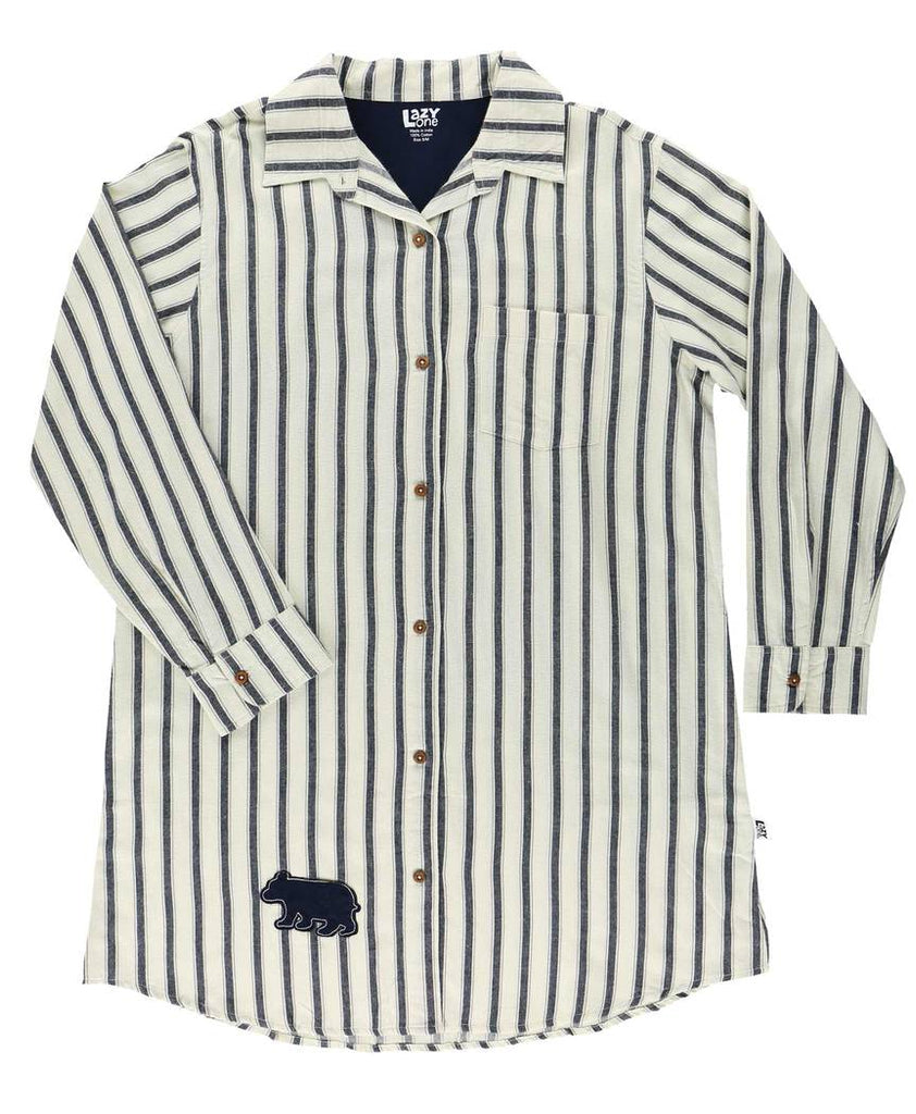 Ticking Bear Nightshirt