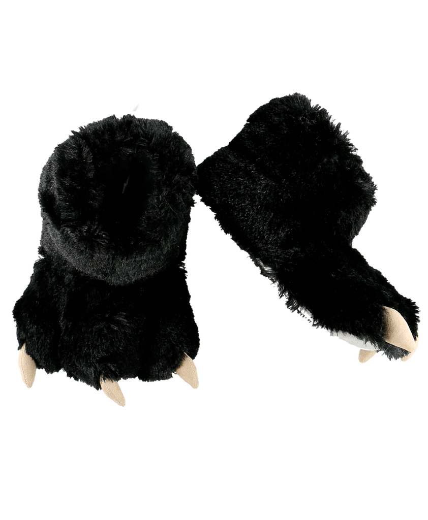 Black Bear Paw Slipper