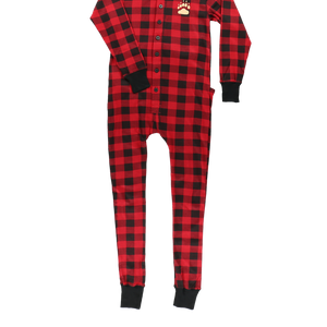 Plaid Bear Cheeks Adult Flapjack