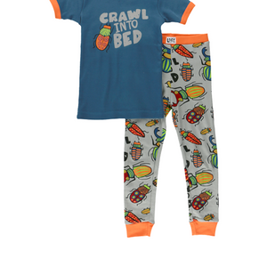 Crawl into Bed Short Sleeve PJ Set