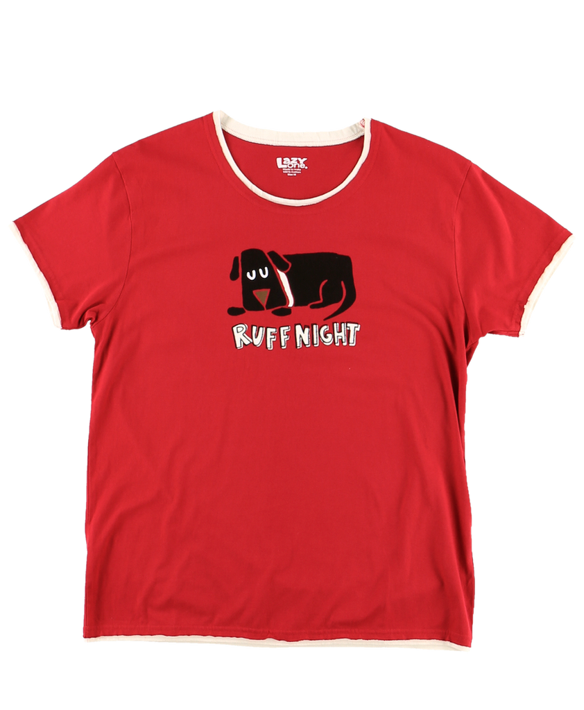 Ruff Night Women PJ Tee