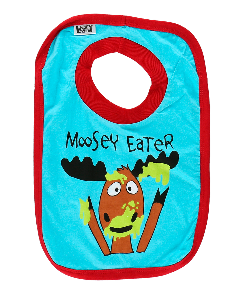 Moosey Eater BOY Bib