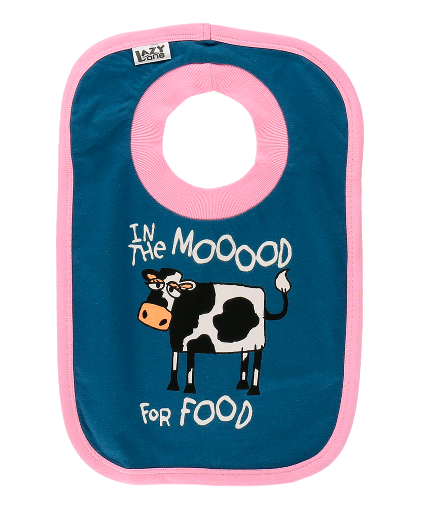 Moood For Food Bib