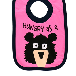 Hungry as a Bear Boy Bib