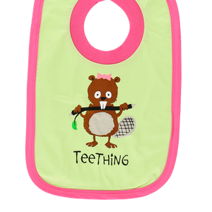Teething Pink Bib