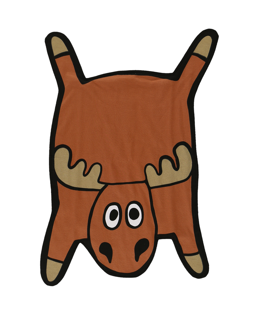 Moose Burp Cloth