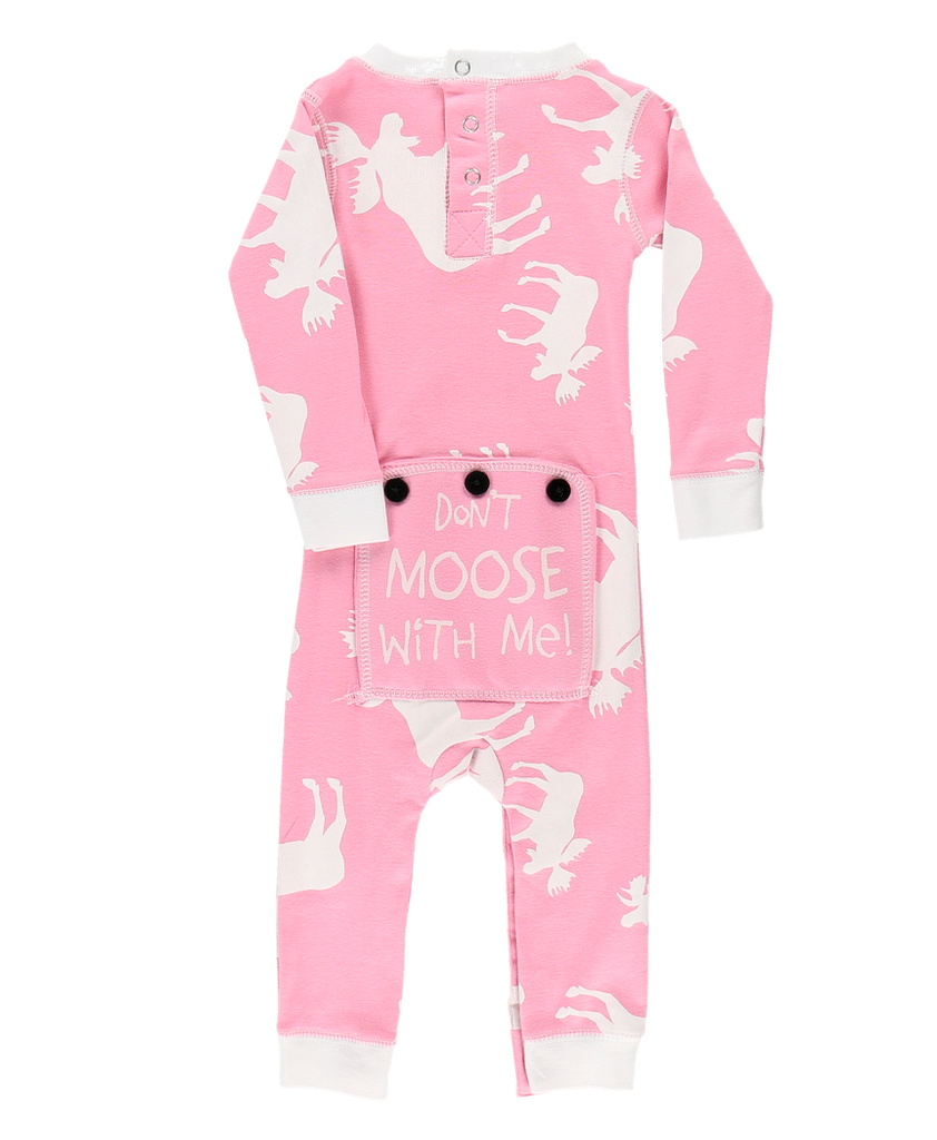 Classic Moose PINK Infant Flapjack