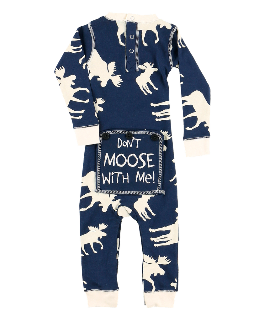 Classic Moose BLUE Infant Flapjack